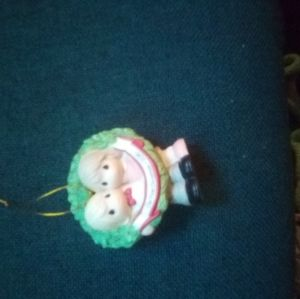 None Holiday - Presous moment ornament